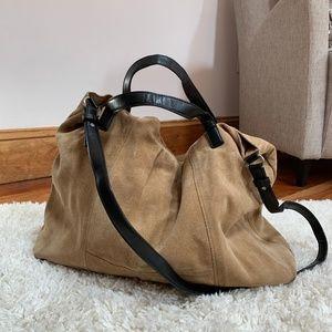 Zara Suede Leather Bag